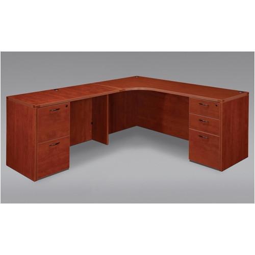 Flexsteel Contract Fairplex Corner Executive Desk