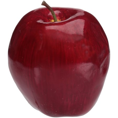 Akasha Faux Fruit Red Apple, 1 Each ()