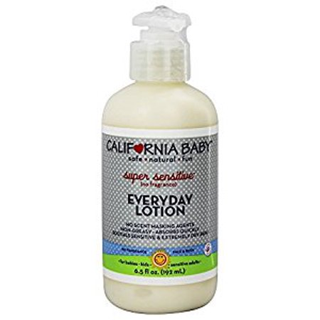 California Baby Super Sensitive Lotion de tous les jours - Parfum - 6,5 oz