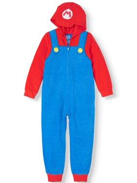 Boy's Nintendo Super Mario Pajama Blanket Sleeper (Little Boy & Big Boy)