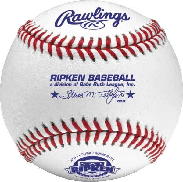 Rawlings RCAL1 Cal Ripken League Competition Grade Baseballs (Dozen)