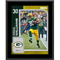 """Jamaal Williams Green Bay Packers 10.5"""" x 13"""" Sublimated Player Plaque"""