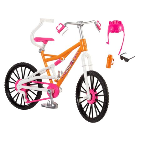 Barbie Mountain Bike with Doll Helmet, Sunglasses & Water (Barbie Life In The Dreamhouse English Full Episodes)