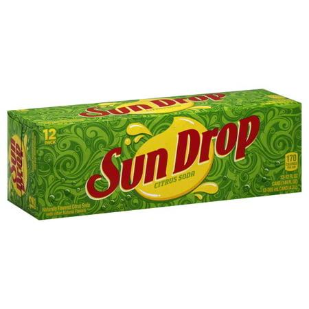 Dr Pepper Seven Up Sun Drop Soda 12 Ea Walmart Com