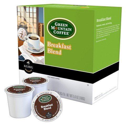 Green Mountain Products Breakfast Blend, Keurig K-Cups, 1...