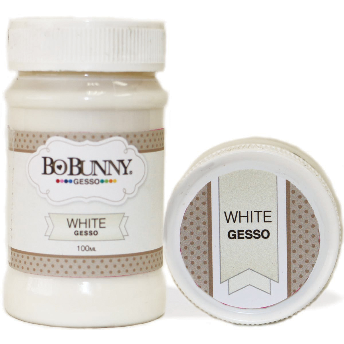 BoBunny Gesso 100ml-White