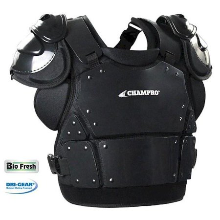 Champro Pro Plus Plate Armor Adult Umpire Chest Protector, 14.5in (Umpire Plate)