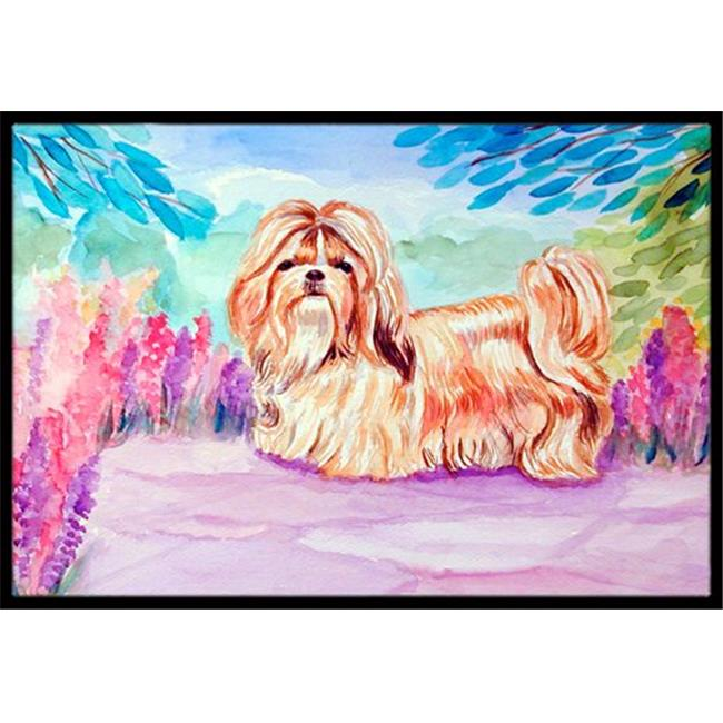Carolines Treasures 7136JMAT 24 x 36 in. Shih Tzu Indoor Or Outdoor Mat - image 1 de 1