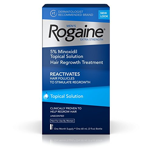 Rogaine Men's Extra Strength Hair Loss & Hair Regrowth Treatment for Fuller Hair