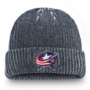 Columbus Blue Jackets Fanatics Branded Authentic Pro Rinkside Cuffed Knit Hat - Navy - OSFA