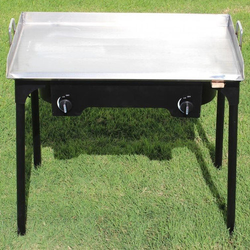 Concord Cookware 32'' Gas Grill with Double Burner Stand