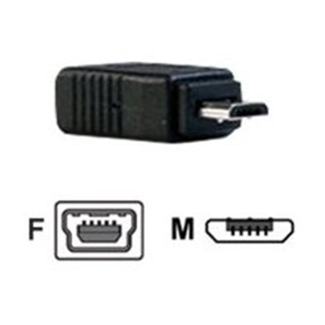 StarTech UUSBMUSBMF Male Micro USB to Female Mini USB Adapter NEW