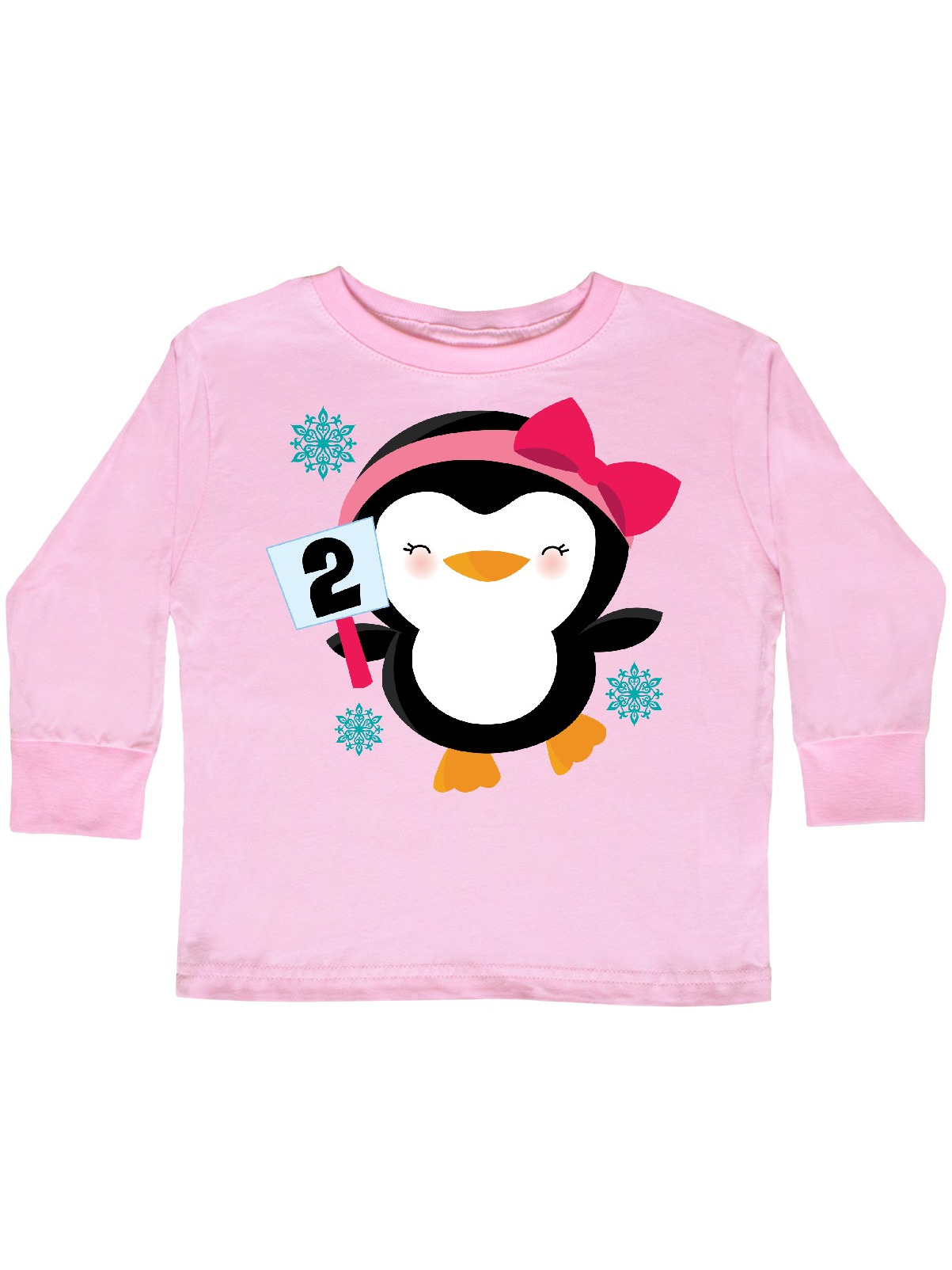 inktastic I Love My Granma with Cute Penguin and Toddler Long Sleeve T-Shirt