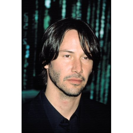 Keanu Reeves At Premiere Of The Matrix Reloaded Canvas Art     16 X 20
