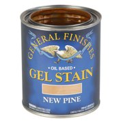 General Finishes, Gel Stain, Oil Based, New Pine, Quart