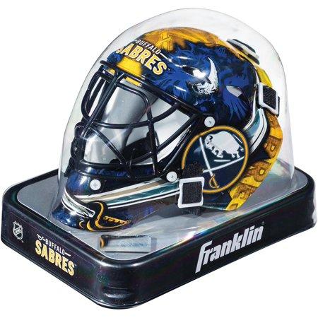 Buffalo Sabres Unsigned Franklin Sports Replica Mini Goalie Mask (Bane Replica Mask)
