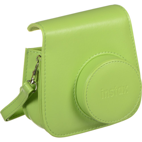 Fujifilm Groovy Camera Case for Instax Mini 9, Lime Green