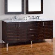 James Martin Metropolitan 72 in. Double Bathroom Vanity