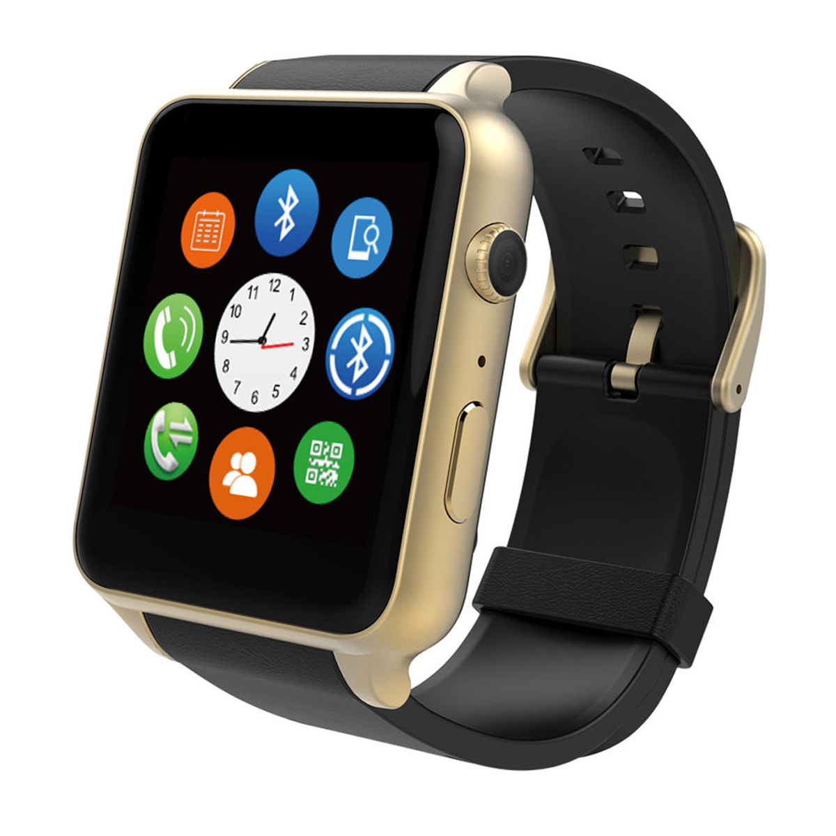 TechComm GT88 Smart Watch Camera Bluetooth GSM Call & Text Heart Rate