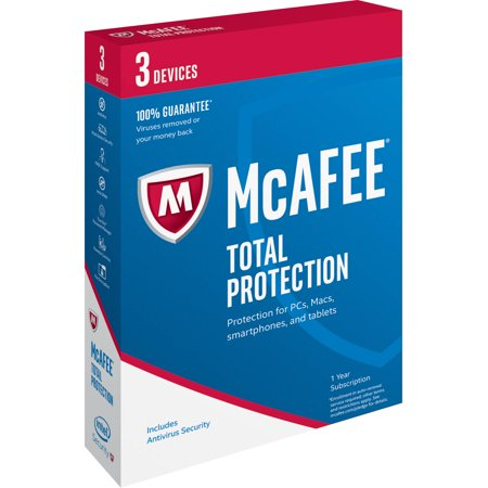 Mcafee 2017 Total Protection  5 Devices