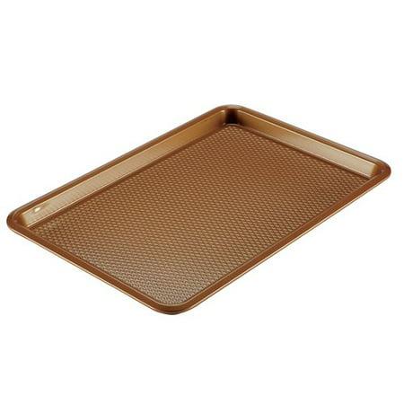 Ayesha Bakeware Nonstick Cookie Pan, 11-Inch x 17-Inch, Copper