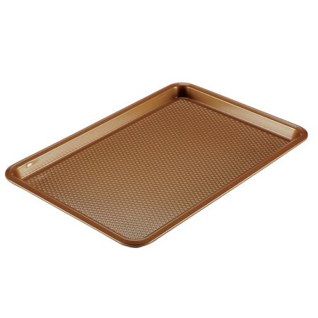 """Ayesha Curry Bakeware Nonstick Cookie Pan, 11"""" x 17"""", Silver"""
