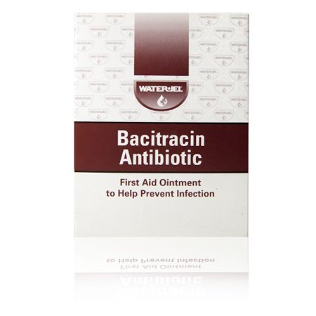 Water Jel Bacitracin Antibiotic Ointment Packets 1 32 Oz   144 Box