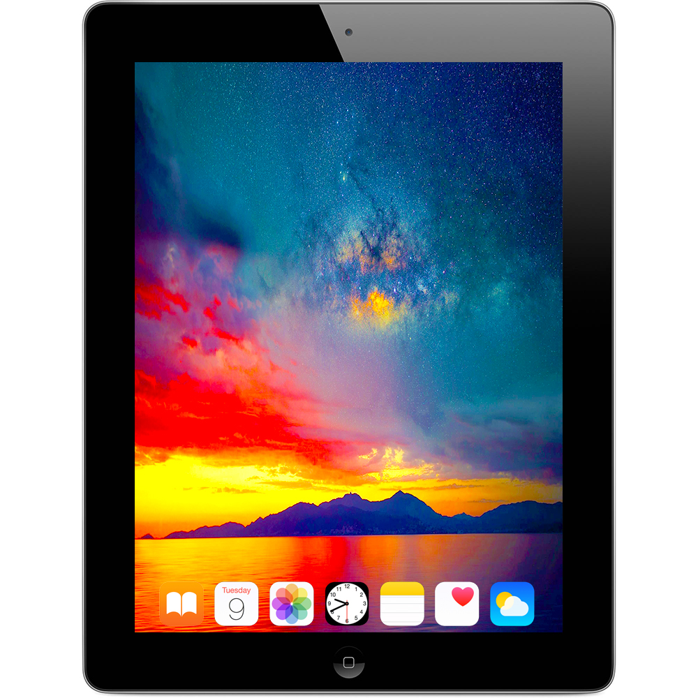 Apple iPad 4 9.7in Retina Display 16GB Wifi Tablet (Black) - MD510LL/A (Refurbished)