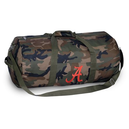 981d260074 Broad Bay University of Alabama CAMO Duffel Bag or CAMO Alabama Gym Bag  with Tough Metal
