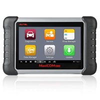 Autel MaxiCOM MK808 OBD2 Scanner Car Diagnostic Code Reader with All System Diagnosis & Oil Reset, EPB, BMS, SAS, DPF, TPMS Relearn Service Functions(MD802+MaxiCheck Pro)