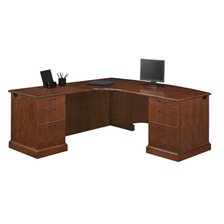 Flexsteel Contract Drawers Shape Lexecutive Desk