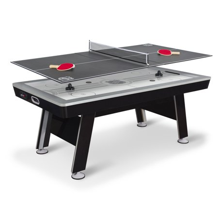 "EastPoint Sports 80"" NHL Air Powered Hover Hockey Table with Table Tennis Top"