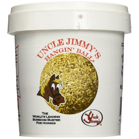 Uncle Jimmys Hanging Balls (Hangin Balls Molasses, 3.5lb, Uncle Jimmy's Hanging Balls. Horse Feed Supplements By Uncle)