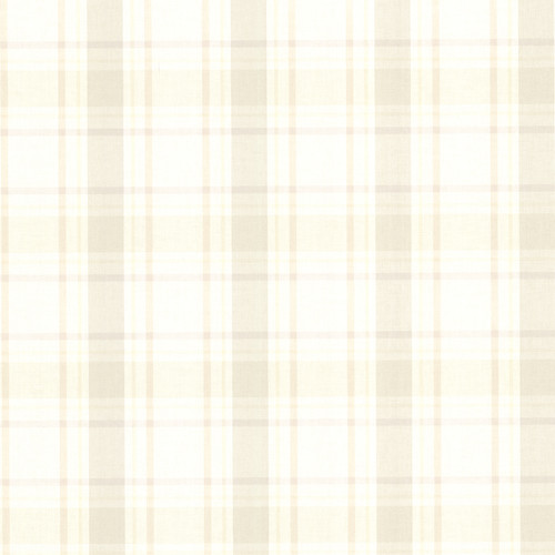 Brewster Home Fashions La Belle Maison Grand 33' x 20.5'' Plaid 3D Embossed Wallpaper