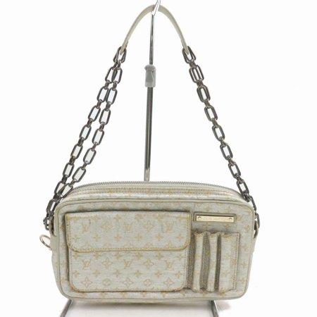 Louis Vuitton Silver Metallic Monogram Shine Mckenna Chain Bag 871661