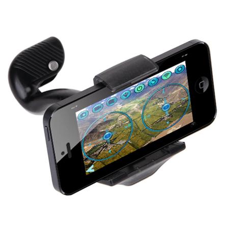 HobbyFlip for Devo Transmitters Phone Holder A for RC Aircraft