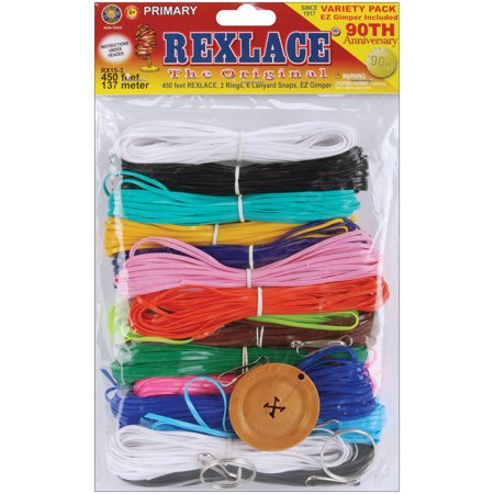 Pepperell Rexlace 90th Anniversary Variety Pack - Plastic Lacing