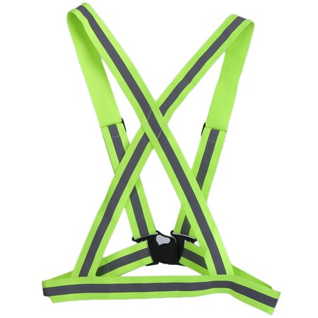 LESHP Traffic Night Work Security Running Cycling Safety Reflective Vest Jacket - image 6 de 12