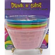 MorrisCostume FW1728 1 Easter Egg Dye Color Cups Kit - Multicolor