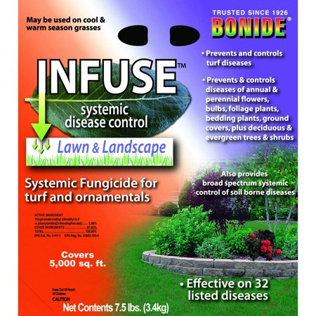 Systemic Fungicide Roses (Products 60514 Granular Fungicide, 7.5-Pound, 7.5 lb., Infuse Systemic Granular Fungicide By)