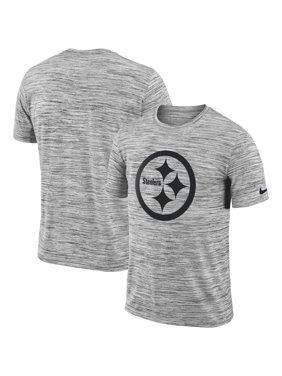 Product Image Nike Men s Pittsburgh Steelers Legend Velocity Travel  Performance Grey T-Shirt e7c6ef646