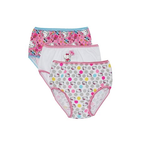 Hello Kitty Underwear Panties, 3 Pack (Toddler Girls)