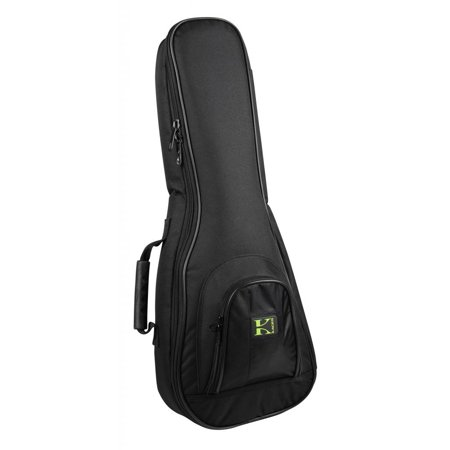 Kaces Tenor Ukulele Bag, Lightweight Foam, 600D Nylon, Handle/Strap, KUKT-2