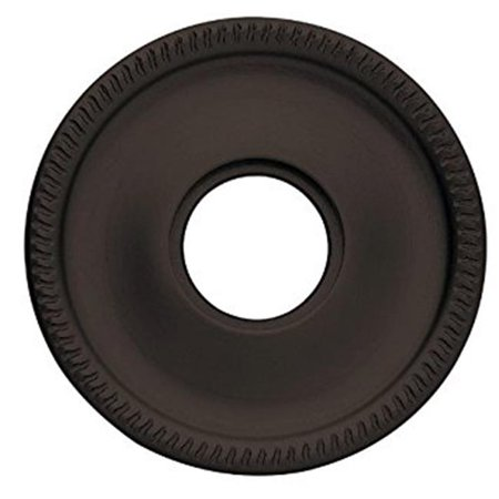 Guitar Rosette - Baldwin 5129102 2.62 in. Estate Rosettes for Privacy Functions - Oil Rubbed Bronze