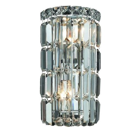 Eurofase Lighting Crystal Sconce - Elegant Lighting Maxime 12
