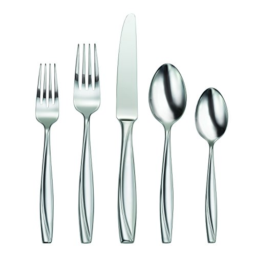 Oneida Camlynn Mirror Flatware 45-Piece Set, Service for 8