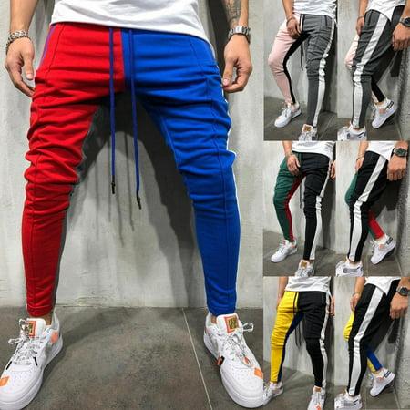 Nike Athletic Track Pants - Men Tracksuit Sport Pants Long Trousers Fitness Workout Joggers Gym Sweatpants