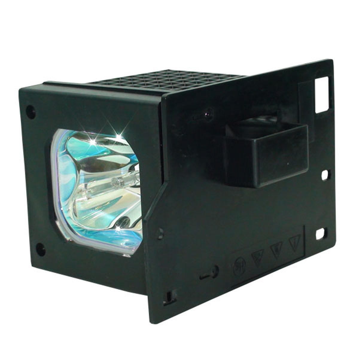 Philips Lamp Housing For Hitachi 50V500A Projection TV Bu...