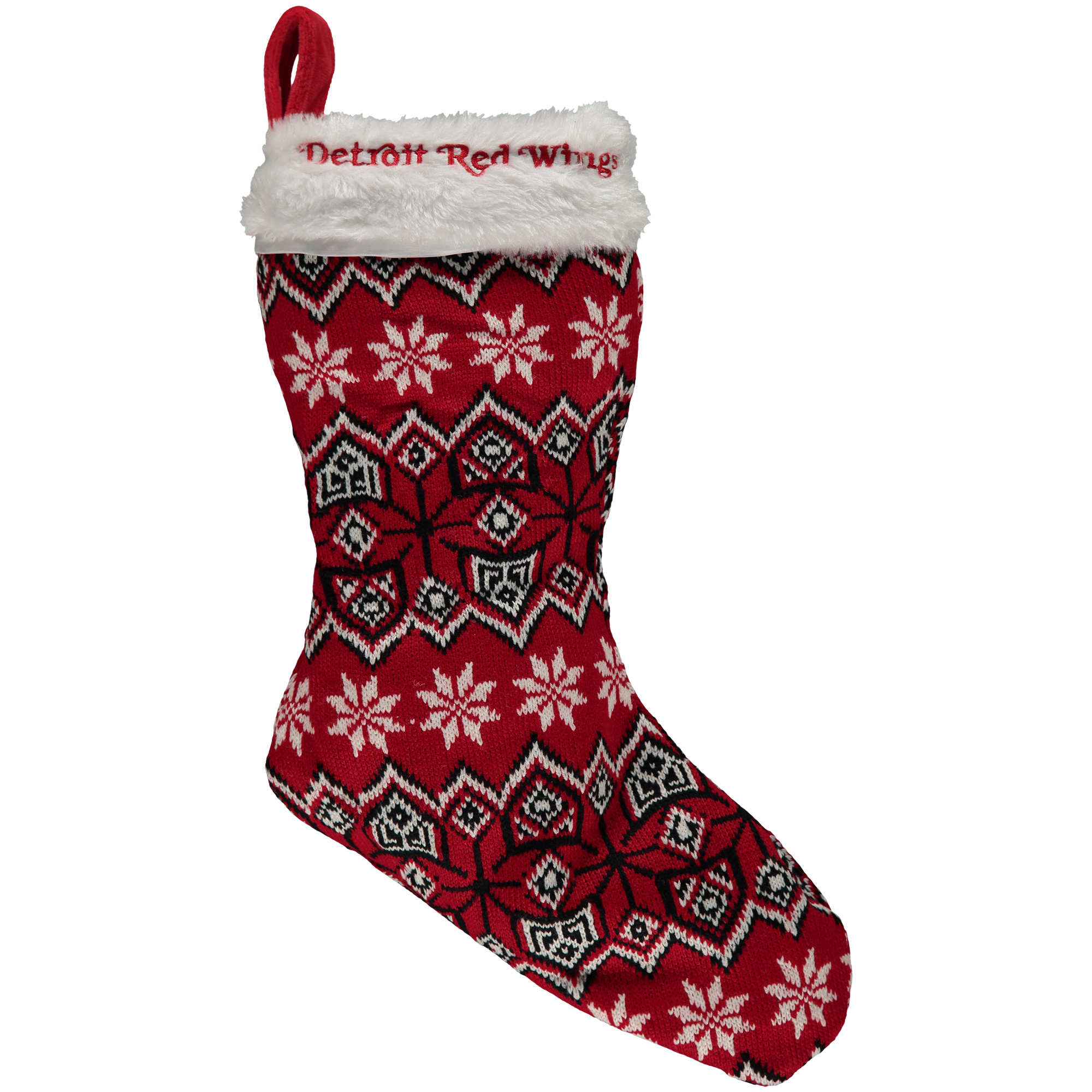 Detroit Red Wings Knit Stocking - No Size