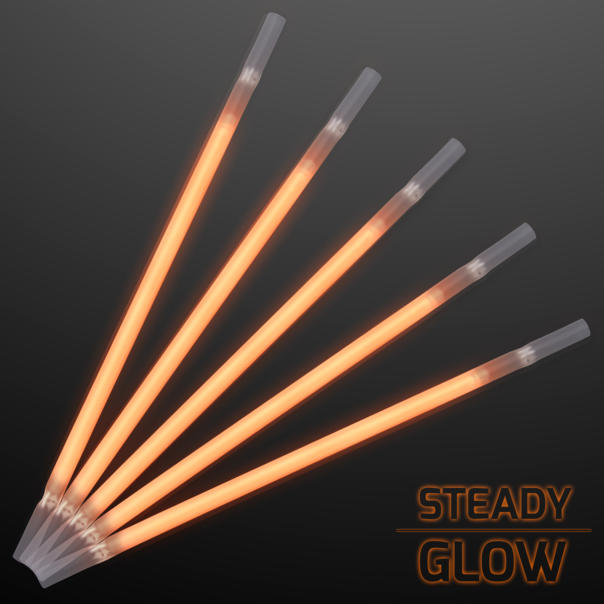 FlashingBlinkyLights Glow Stick Drinking Straws (Set of 25)